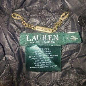 Black long coat (packable)